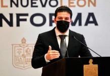 Samuel García se reúne con Hugo López-Gatell; quiere vacunas para menores de 18 años