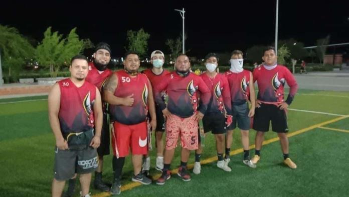 DEL FUTBOL BANDERA se enfrentan en liga elite Diablos y PlayMakers