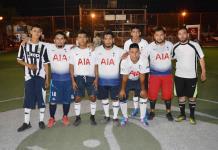Firman otra goleada los tres Hernández  en la liga de futsal 7 Barrios Unidos
