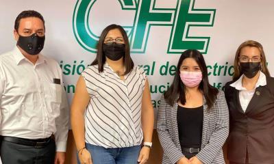 Pily Valenzuela crea lazos con CFE