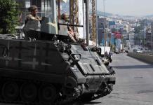 Violentos enfrentamientos en Líbano deja 60 heridos