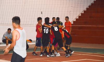En la 1ª fuerza varonil del voleibol  Club Bravos debuta  con victoria