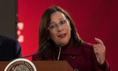 Rocío Nahle, secretaria de Energía, visita la refinería Dos Bocas