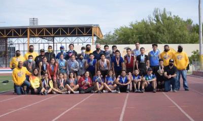 Éxito en tercera edición Copa de Atletismo