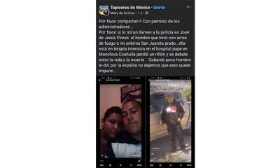 Buscan a atacante de San Juanita