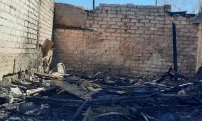 Desaparece mujer; se incendió su casa