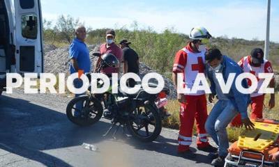 Tumba cafre a motociclista