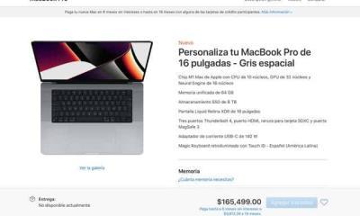¿Cuánto cuestan las nuevas MacBook Pro de 14 y 16 pulgadas en México?