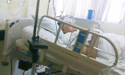 Vive profe Gustavo calvario en clínica