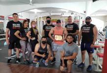 Conviven fisiculturistas con Ramiro Campuzano