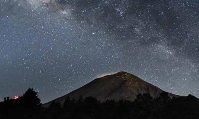 Captan Misterioso grito cerca del Volcán Popocatépetl