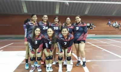 EXCELENTE ARRANQUE  DE TEMPORADA en liga de voleibol municipal