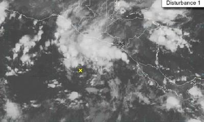 Se fortaleció la borrasca con potencial ciclónico en el Pacífico