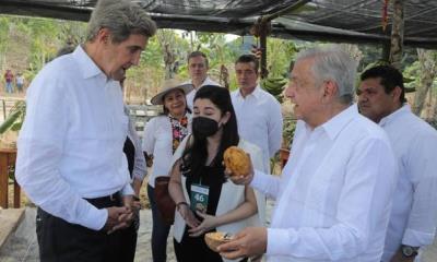 John Kerry: Todo el mundo debería concentrarse en lo que AMLO está haciendo