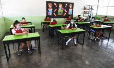 En Allende regresan a las aulas