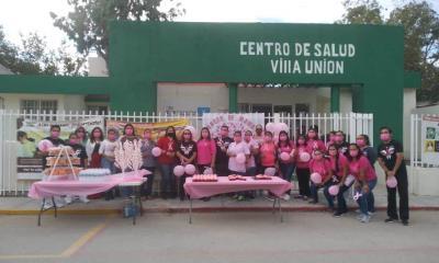 Por la salud caminan unidas en Villa Unión