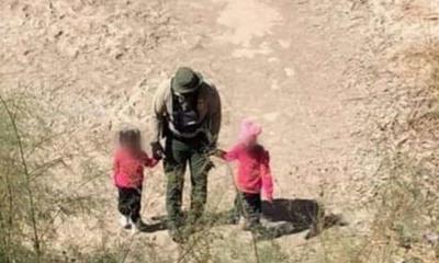 Patrulla Fronteriza rescata a niñas migrantes abandonadas en el desierto de Arizona