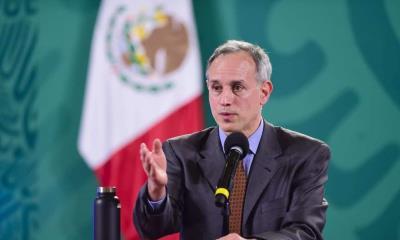 """México cerca del """"Punto mínimo absoluto"""" de la pandemia: Gatell"""