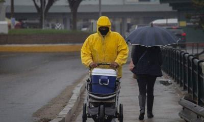 Frente Frío, Onda Tropical y canal de baja presión traerán lluvias fuertes
