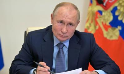 Putin anuncia paro de trabajo por una semana ante aumento de casos de Covid