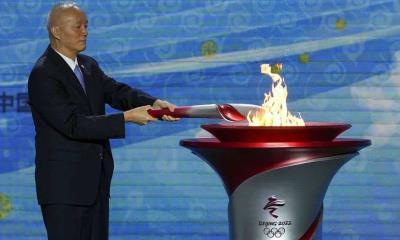 Aun con la amenaza de boicot: Llama olímpica llega a China