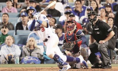 ¡Apalean Dodgers a Bravos!