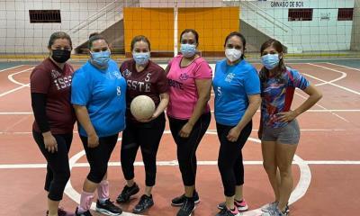 Liga municipal de voleibol cae ISSSTE  ante Diablas