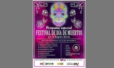 Preparan festival de Día de Muertos