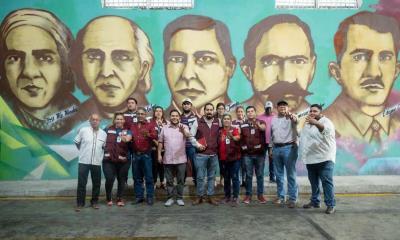 Visitan Frontera líderes Morenistas