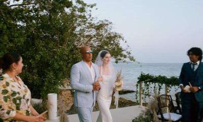 Vin Diesel entrega en el altar a la hija de Paul Walker