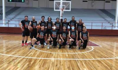 Hoy en el gimnasio Santiago V. González se lleva a cabo convivencia  Juvenil de Baloncesto
